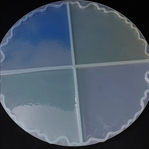 Resin mold for coasters
